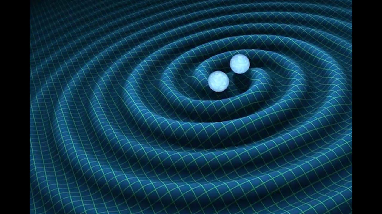 Recreación de ondas gravitacionales.